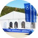 auto show tent png