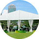 clear span tent png