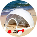 dome tent png
