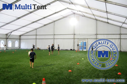 football pitch tent