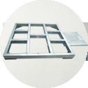 Heavy loading plate