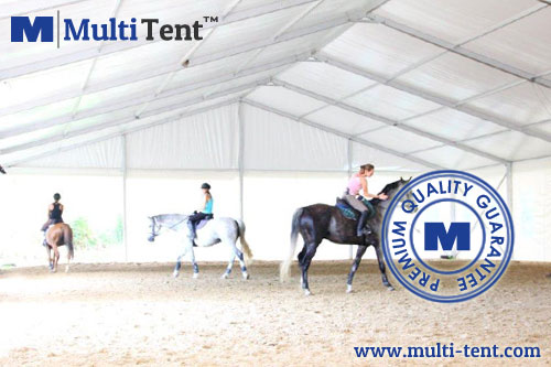 horse riding tent