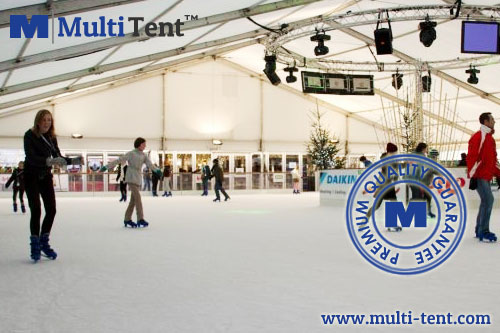 ice rink tent