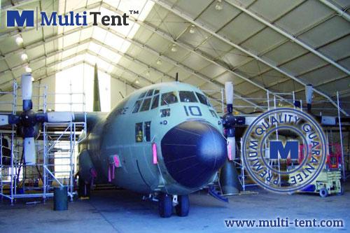 military hangar tent