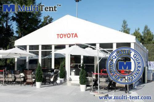 motor show tent