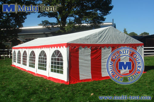 steel frame party tent