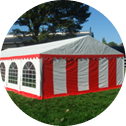 steel frame party tent png