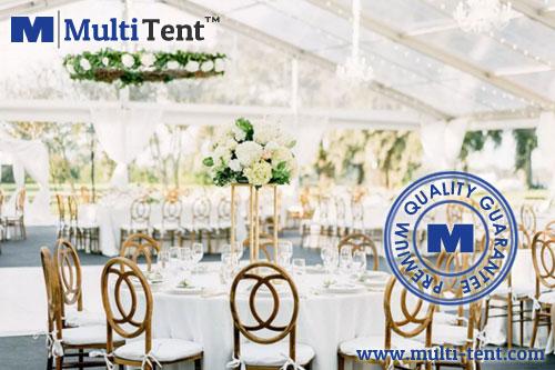 transparent wedding tent
